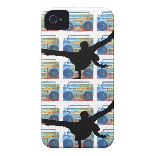 Boombox B-Boy iPhone 4 Covers