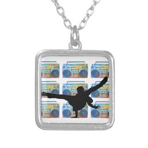 Boombox B-Boy Necklace