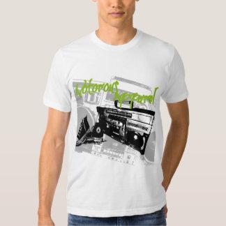 Boombox Bitmap Shirt