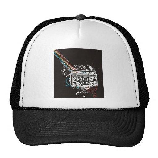 Boombox Boom Box Ghetto Blaster Jambox Hat