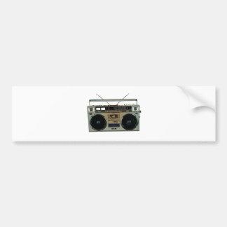 Boombox Bumper Sticker