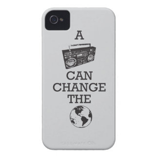 Boombox Can Change the World iPhone 4 Case