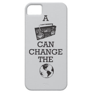 Boombox Can Change the World iPhone SE/5/5s Case