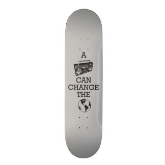 Boombox Can Change the World Skateboard Deck