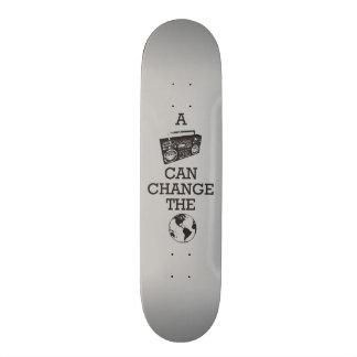 Boombox Can Change the World Skateboard Deck