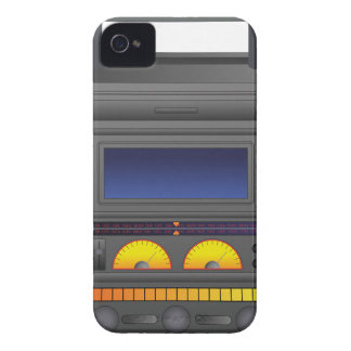 Boombox Cartoon Case-Mate iPhone 4 Case