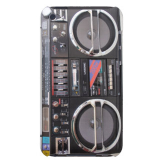 Boombox clásico barely there iPod protectores