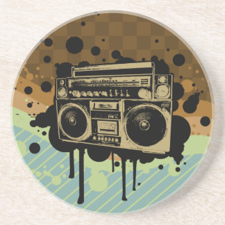 BoomBox Drink Coasters