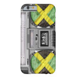 Boombox de Jamaica Funda Para iPhone 6 Barely There