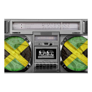 Boombox de Jamaica Poster
