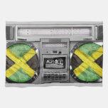 Boombox de Jamaica Toallas