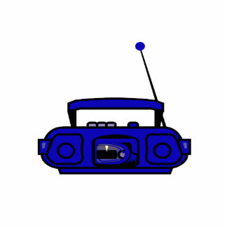 boombox del casete con las notas bluish.png esculturas fotográficas