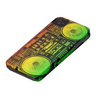 boombox del reggae carcasa para iPhone 4 de Case-Mate