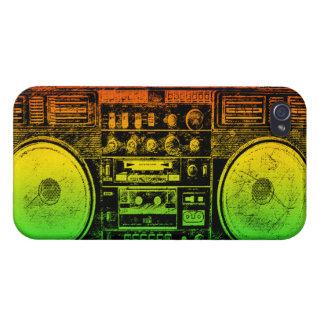 boombox del reggae iPhone 4/4S funda