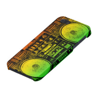 boombox del reggae iPhone 5 fundas
