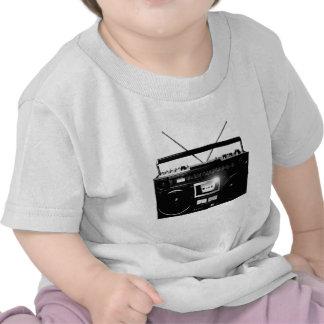 Boombox el an o 80 de Dadawan Ghettoblaster Camiseta