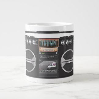 Boombox Ghetto Blaster Giant Coffee Mug