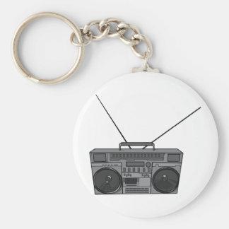 Boombox Ghetto Blaster Jambox Radio Cassette Keychains