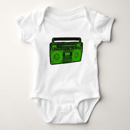 boombox ghetto blaster radio baby bodysuit