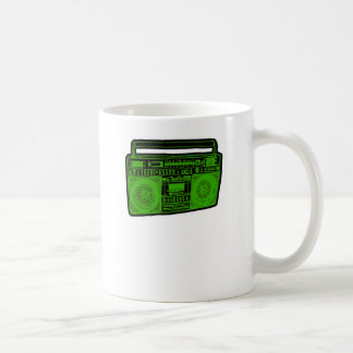 boombox ghetto blaster radio coffee mug