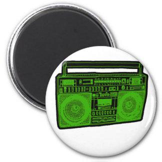 boombox ghetto blaster radio magnet