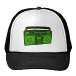 boombox ghetto blaster radio trucker hats