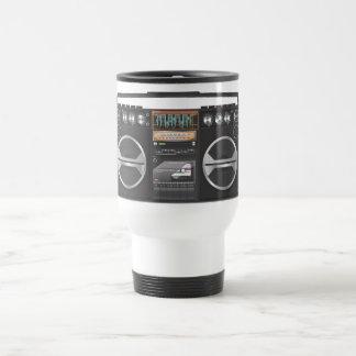 Boombox Ghetto Blaster Travel Mug