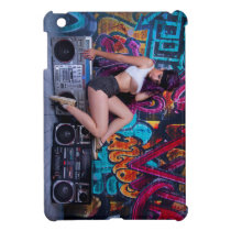 Boombox Girl Cover For The iPad Mini