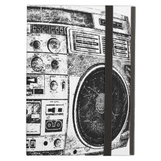 Boombox graffiti iPad covers
