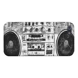 Boombox graffiti iPhone 5 cases