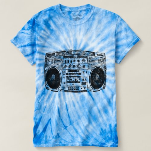 Boombox graffiti shirt