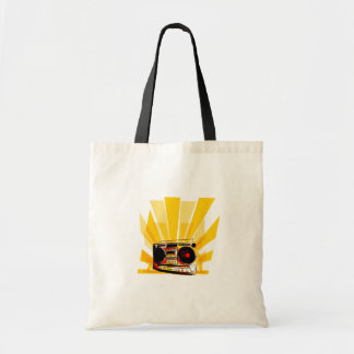 Boombox Graphic Bags