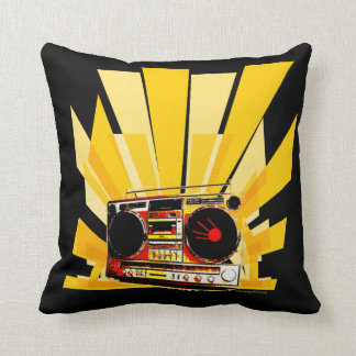 Boombox Graphic Pillows