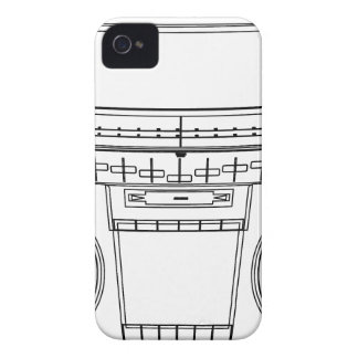 boombox iPhone 4 case