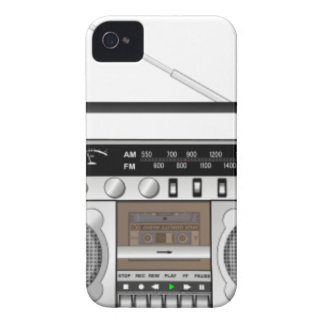 Boombox iPhone 4 Cover