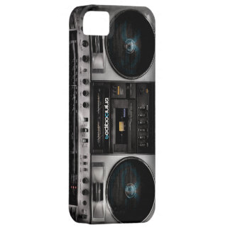 Boombox Ipod Case SC iPhone 5 Cover
