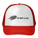 Boombox Is Not a Toy Trucker Hats