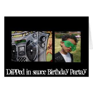 boombox, Jdizle, sumergido en el cumpleaños de la Tarjeta De Felicitación