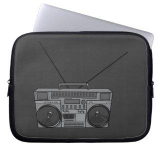 Boombox/jugador estéreo de la radio de la cinta de manga portátil