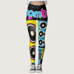 "Boombox leggings<br><div class=""desc"">Super comfortable leggings with defined body contours.</div>"