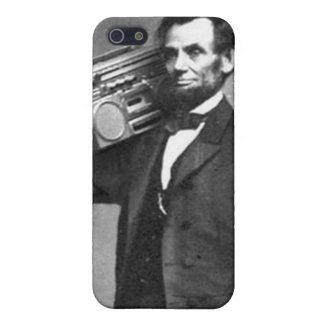Boombox Lincoln iPhone 5 Fundas