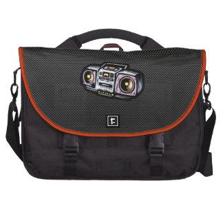 Boombox liso bolsas de ordenador