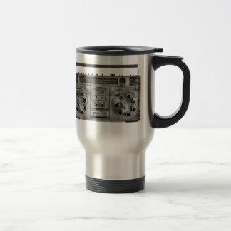 Boombox machine gun travel mug