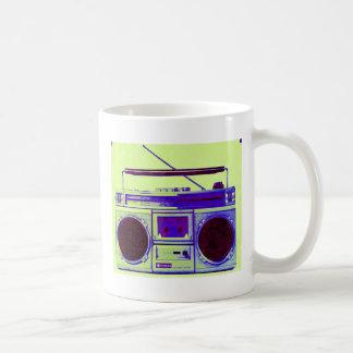 Boombox Basic White Mug