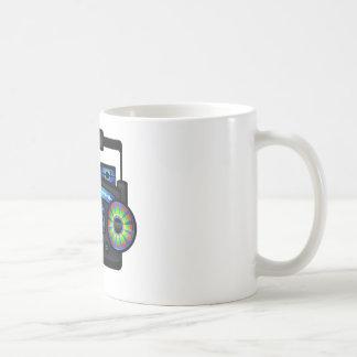 Boombox Classic White Coffee Mug