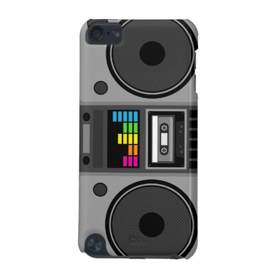 Boombox Music iPod Case