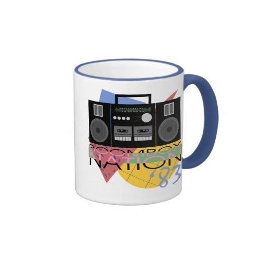 Boombox Nation 83 Coffee Mugs
