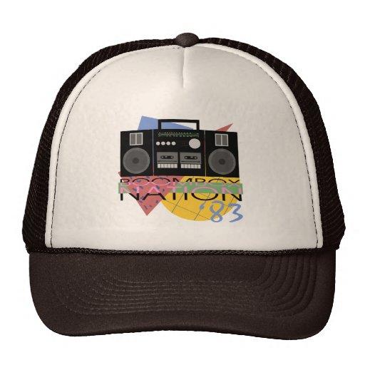 Boombox Nation 83 Mesh Hats
