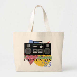 Boombox Nation 83 Large Tote Bag