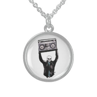 Boombox Personalized Necklace
